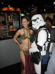 Leia and Stormtrooper