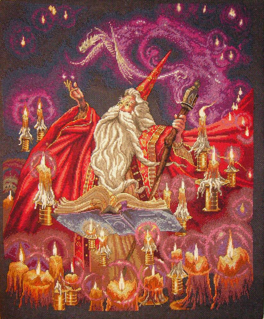 Scarlet Wizard by StychoKiller