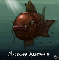 Magikarp Almighty by hammn