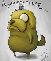 Adventure Time: Finn And Jake by hammn