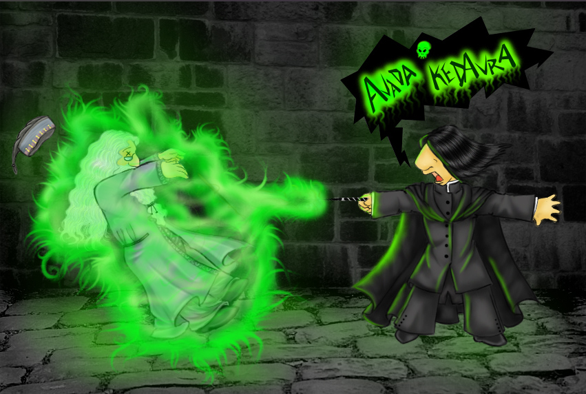 .Severus Snape's Big Moment.