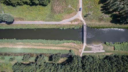 River drone picture by slingeraar
