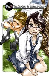 Yankee-kun to Magane-chan CLR by m0n-i