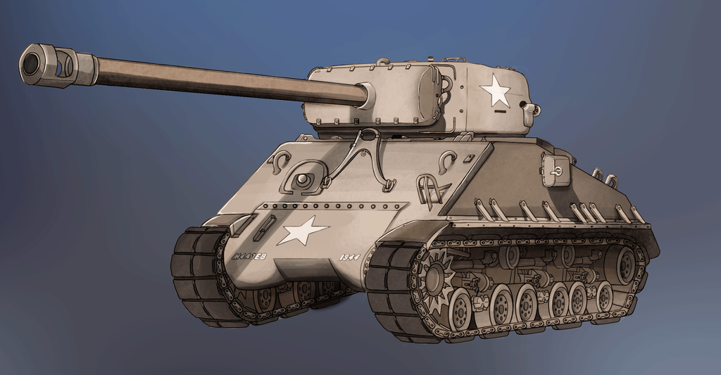 Day 18 - 30DDC - A Tank by G-Townsend