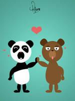 Love bears, rawr by cyantiffic