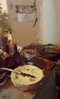 Kitchen Still Life by Sturdyman