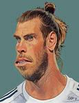 Gareth Bale Caricature by Sturdyman