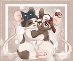 [com] hugs by Wikatoriaacx
