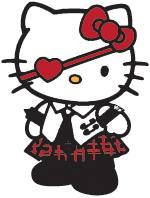 Gothic Hello Kitty by savanna13