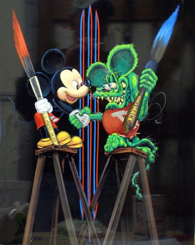 Micky Mouse meets Rat Fink by savanna13