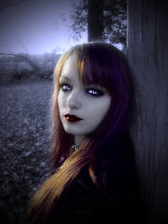 Vampire Breyonna-Dark Beauty by Darkest-B4-Dawn