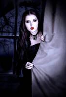 Vampire Anett-Deadly Visitor in the Night by Darkest-B4-Dawn