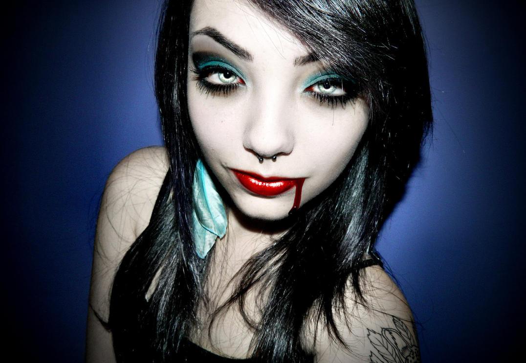 Vampire Caroline-Deadly Beauty by Darkest-B4-Dawn