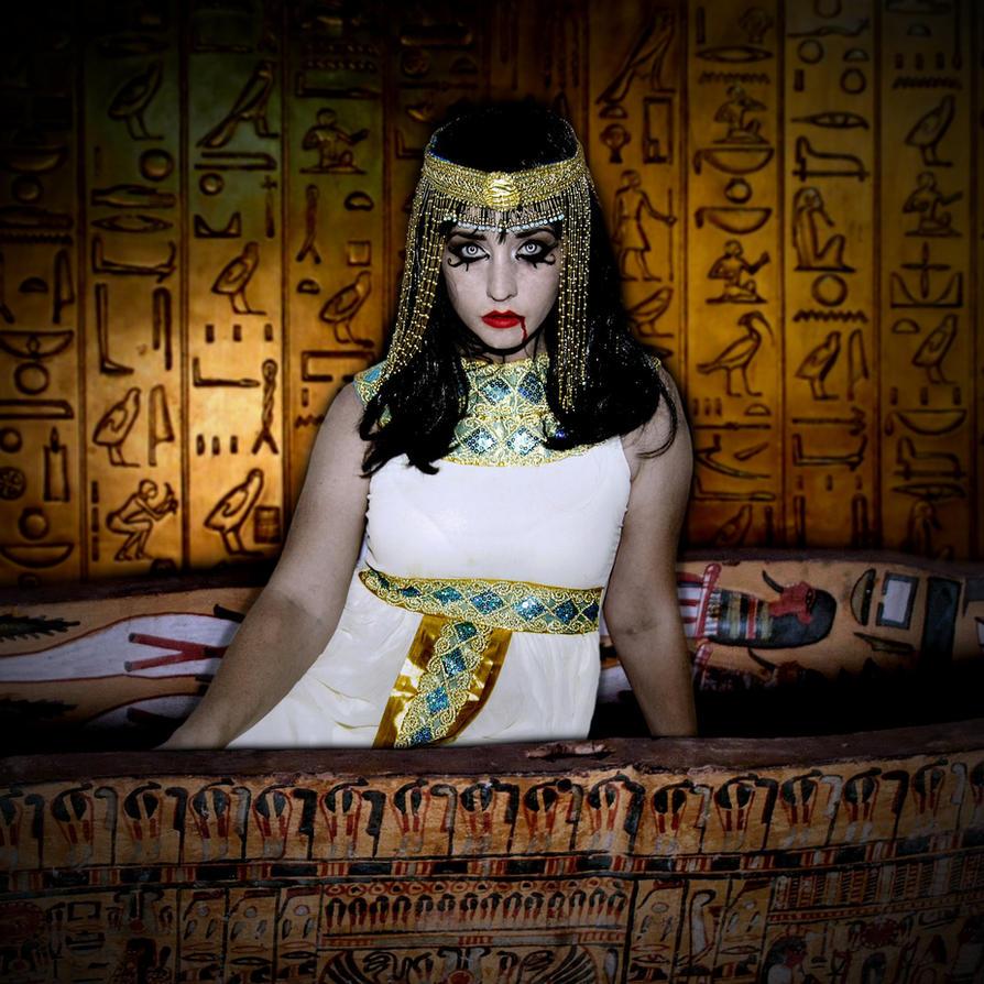 Vampire Cleopatra by Darkest-B4-Dawn