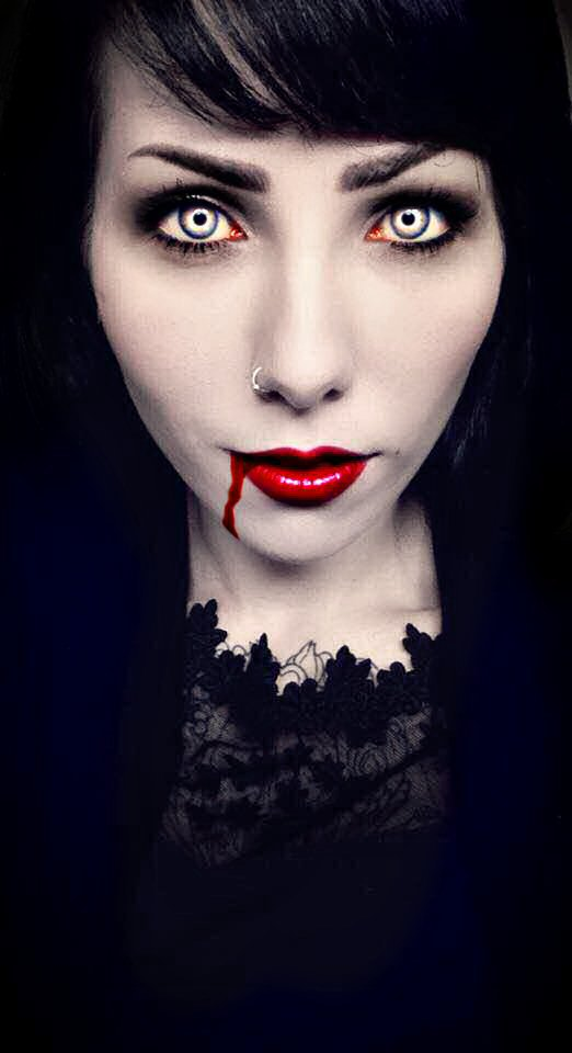 Vampire Simone-Drop of Blood by Darkest-B4-Dawn