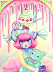 Gummy Gal by miss-octopie