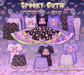 Spooky Cutie Clothing Series by miss-octopie