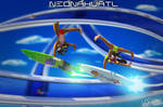 Neonahuatl Xipil and Xauhqui Coatlrunners