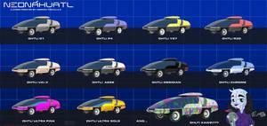 Neonahuatl Ohtli Rider Models 01 by cybertrevil