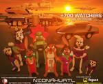 Neonahuatl 700 watchers by HTECORE
