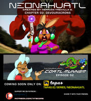 Neonahuatl chapter 02 coming soon on tapas by cybertrevil