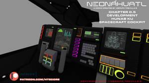 Neonahuatl Chapter 0 development on patreon