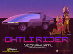 Neonahuatl Old Ohlti rider by cybertrevil
