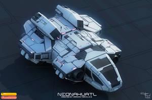 Neonahuatl Hunab Ku spacecraft 2020 by cybertrevil