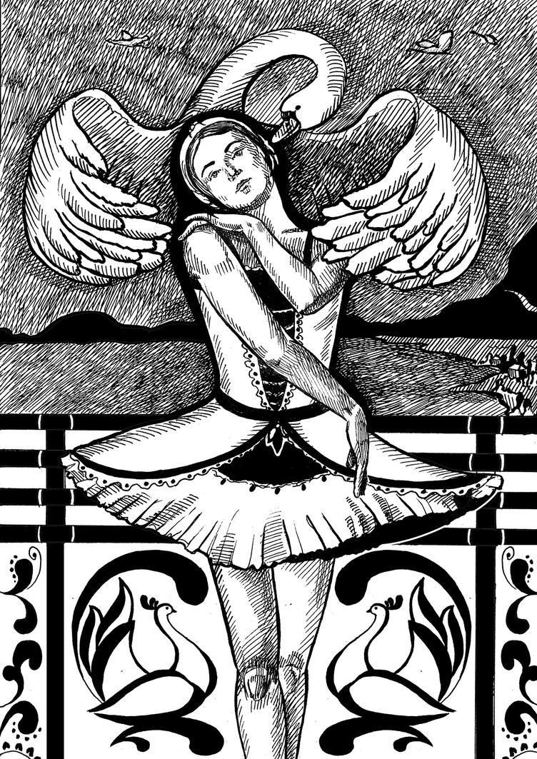 White Swan by Asonya