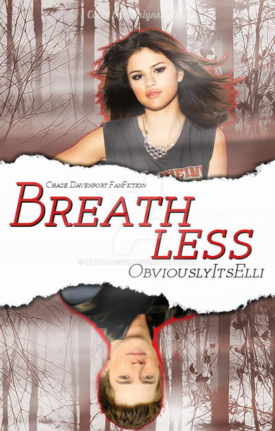 BREATHLESS | WATTPAD COVER FOR ObviouslyItsElli by MLHadassah on