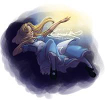 Alice sketch 3 by kanmi