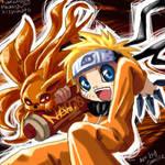Naruto and Kyuubi :3