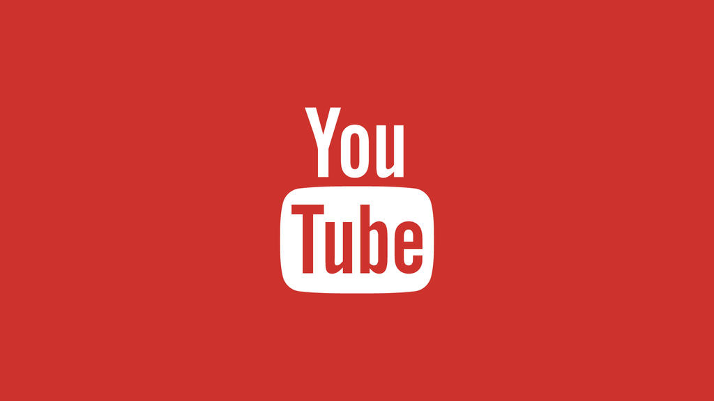 youtube logo wallpaper background image 1080p by
