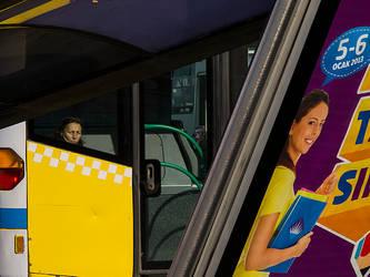 bus passenger bus stop etc. by arslanalp