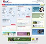 Travel Site Web Interface