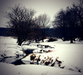 Winter Stream by Astralseed