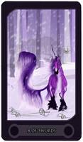 8 of Swords - Tarot Card
