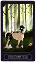Queen Of Pentacles - Tarot Card