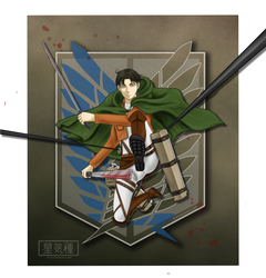 Attack On Titan - Levi by Astralseed