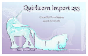 Quirlicorn Import 253 by Astralseed