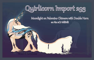 Quirlicorn Custom Import 293 by Astralseed