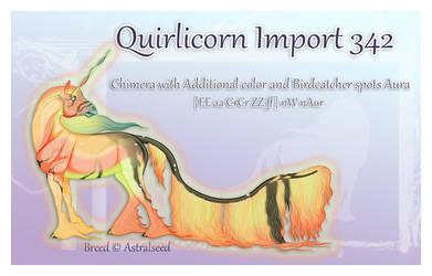 Quirlicorn Import 342 - Art Auction