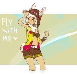 Bunny pilot - bonus by nextlvl-adopts