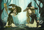 [collab] swamp witches [CLOSED]