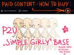 P2U Simple Girly Base