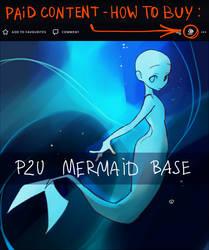 P2U mermaid base 2
