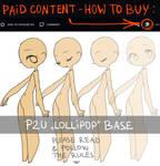 P2U Lollipop Base