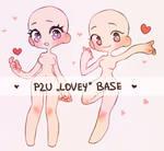 P2U Lovey Base by nextlvl-adopts