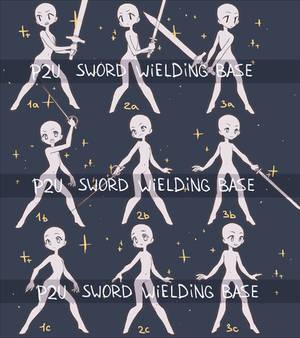 P2U Sword Wielding Base