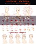 P2U portrait base